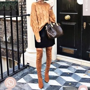 Goodnight Macaroon Marlo over the Knee boots 8.5